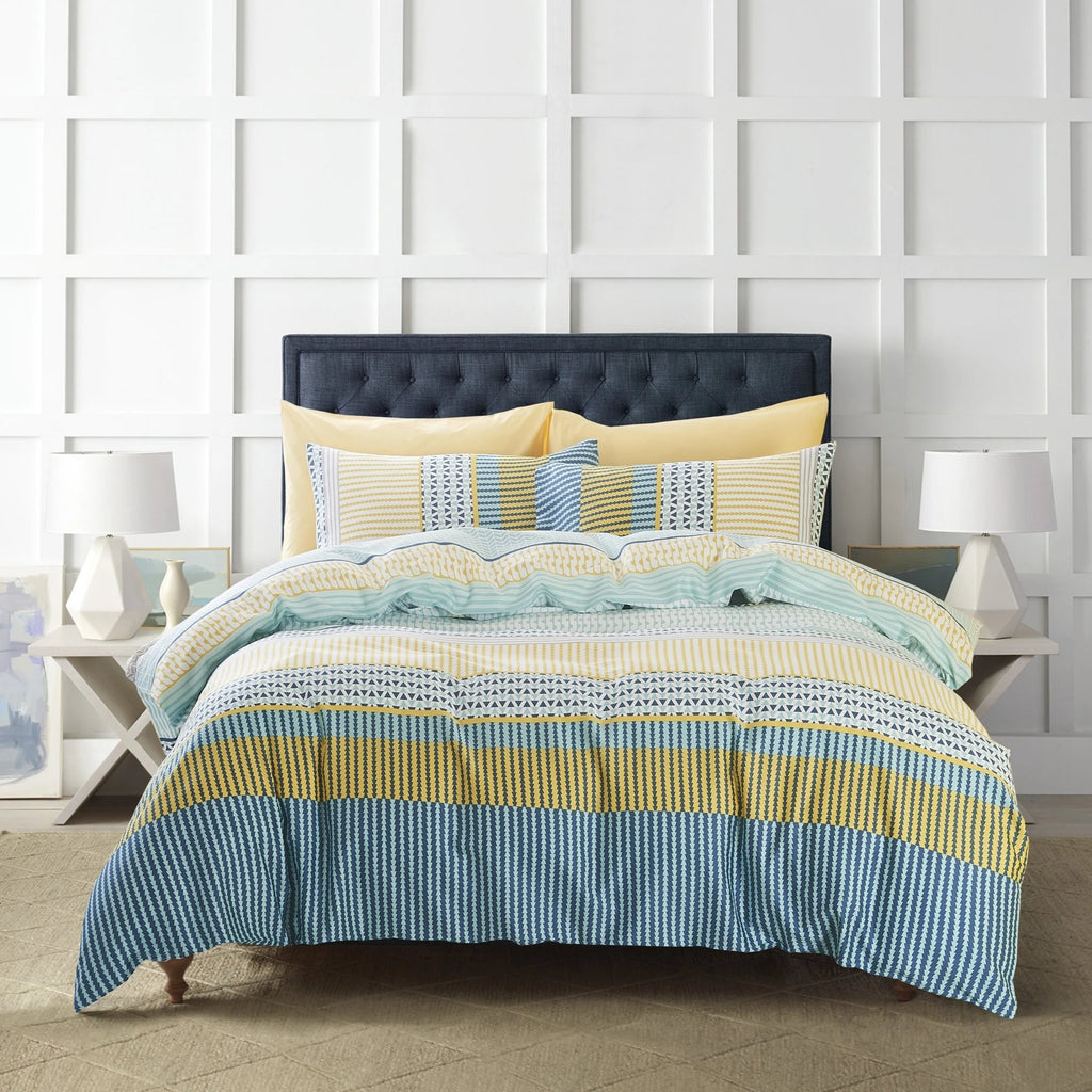 KENDOR - INSPIRO QUILT COVER SET 200TC 100% COTTON