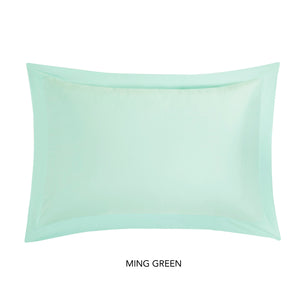 PLAIN DYE TC - PLAIN DYE TC PILLOWSHAMS (1PAIR) 300TC 80% TENCEL™ 20% COTTON