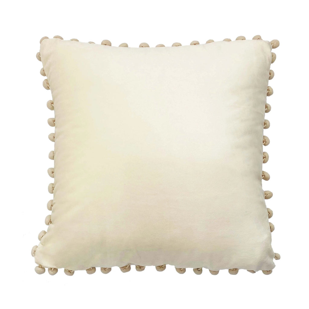 PLATOS - KOMME DECO SQUARE CUSHION WITH FILL