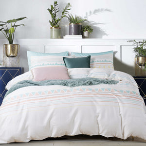 ZANDER - INSPIRO QUILT COVER SET 200TC 100% COTTON