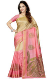 Ishin Combo of 2 Art Printed Women's Saree/Sari