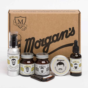Morgan's Gentleman's Beard Grooming Gift Set 6 Piece