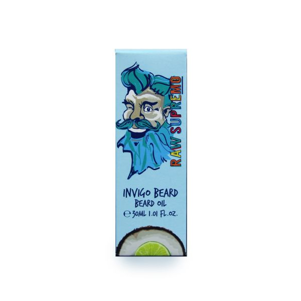 Raw Supremo Invigo Beard Oil 30ml