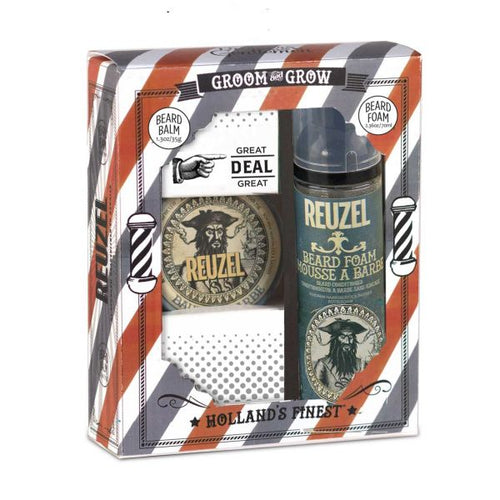 Reuzel Groom & Grow Gift Set