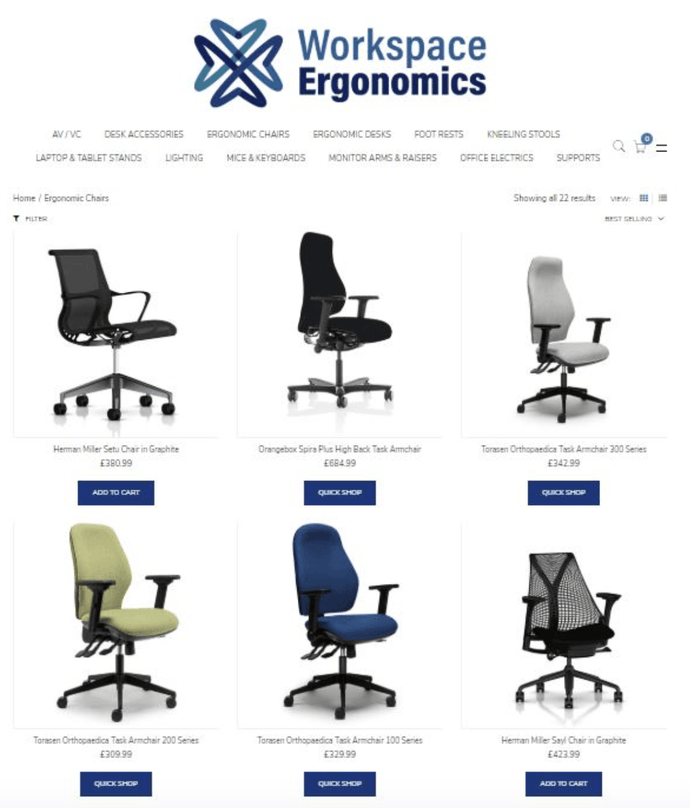 Ergonomic Chair Collection