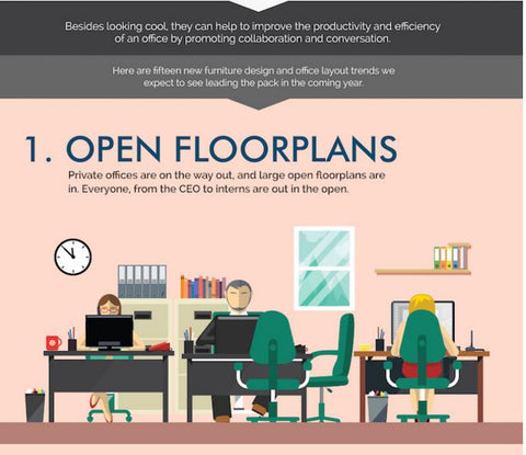 15 Modern Office Layout Design Trends For 2017 By