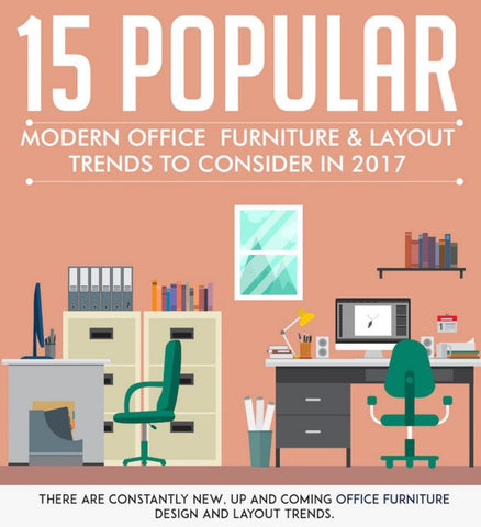 15 modern office layout design trends for 2017 by for Modern office plan