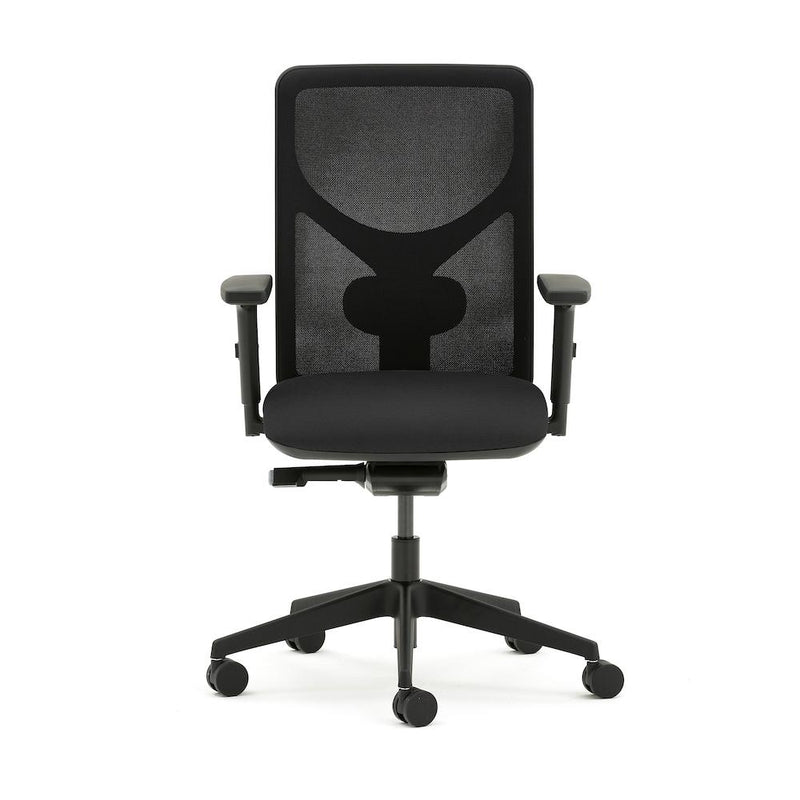 Pluto Plus Mesh Task Chair with Fold Down Arms - e-furniture