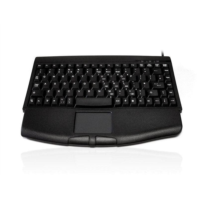 Accuratus 540 - USB Professional Mini Keyboard with Touchpad - e-furniture