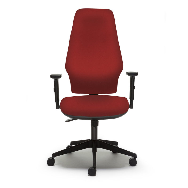 Orthopaedica 300 Series Task Chair with Independent Mechanism and Height Adjustable Arms - e-furniture