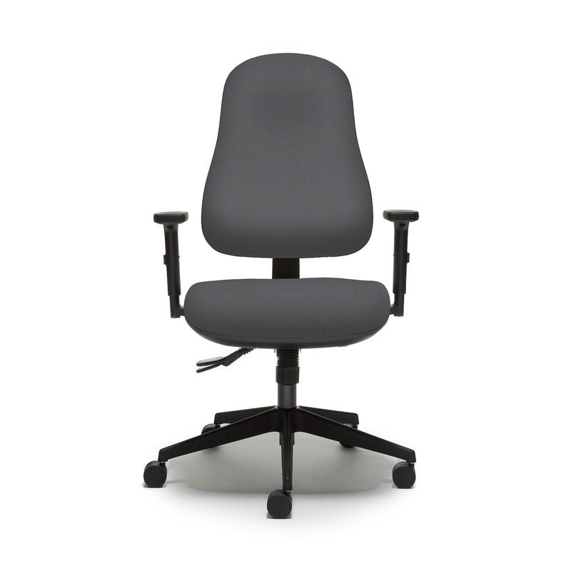 Orthopaedica 90 Series Task Chair with Independent Mechanism and Fold Down Arms - e-furniture