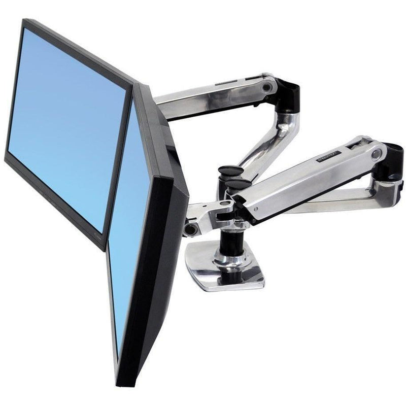 Ergotron LX Dual Desk Mount Arm - e-furniture