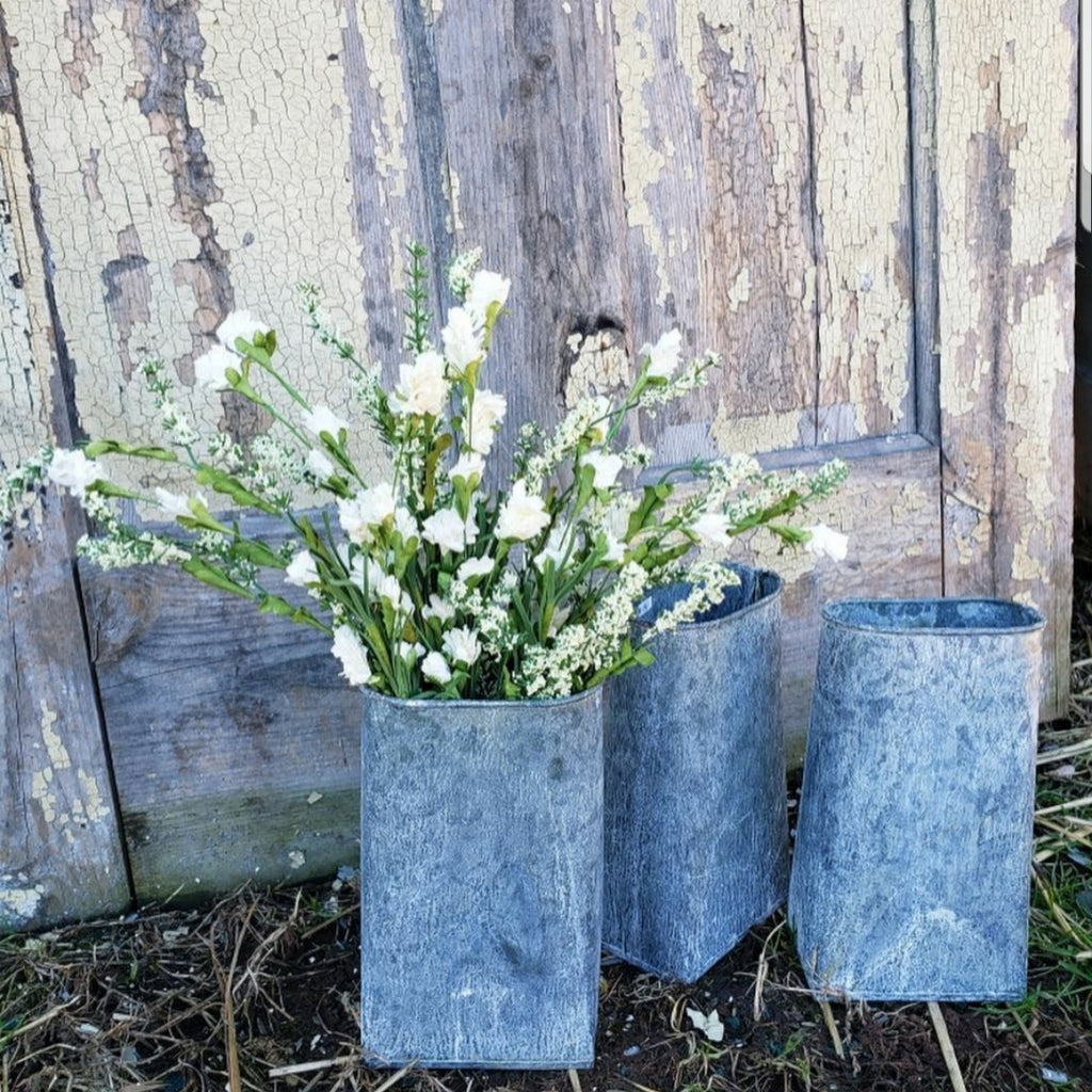BLOWOUT SALE # 2: Lovely White Life-like Larkspur Sprig