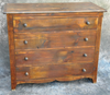 Reclaimed Barnwood 4 Drawer Dresser