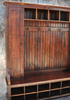 Reclaimed Barnwood Large Mudroom Piece with Door