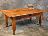 Reclaimed Barnwood  French Leg Coffee Table with Drawer