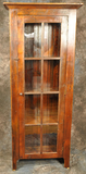 Reclaimed Barnwood  8 Pane Glass Door Cupboard
