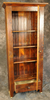 Reclaimed Barnwood 8 Pane Glass Door Cupboard with Drawer