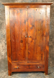 Reclaimed Barnwood Flat Door Pantry Cupboard