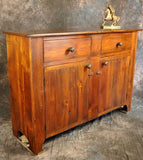 Reclaimed Barnwood 2 Drawer 2 Door Sideboard