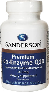 Premium Co-Enzyme Q10 400mg Softgels