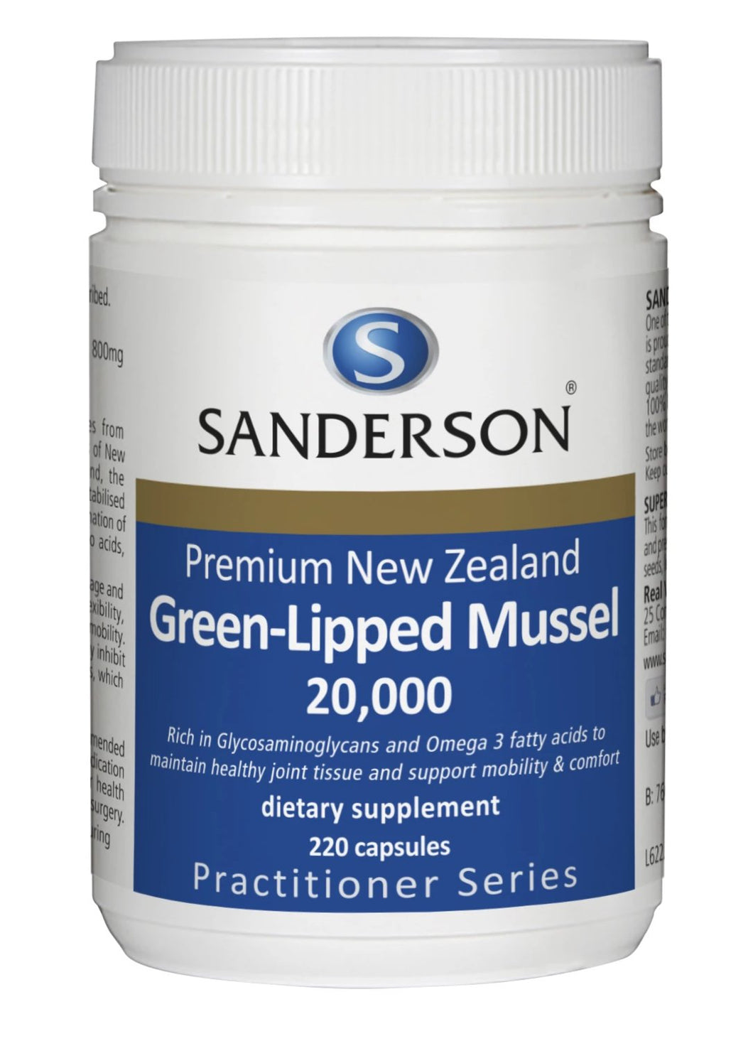 New Zealand Green-Lipped Mussel 20,000