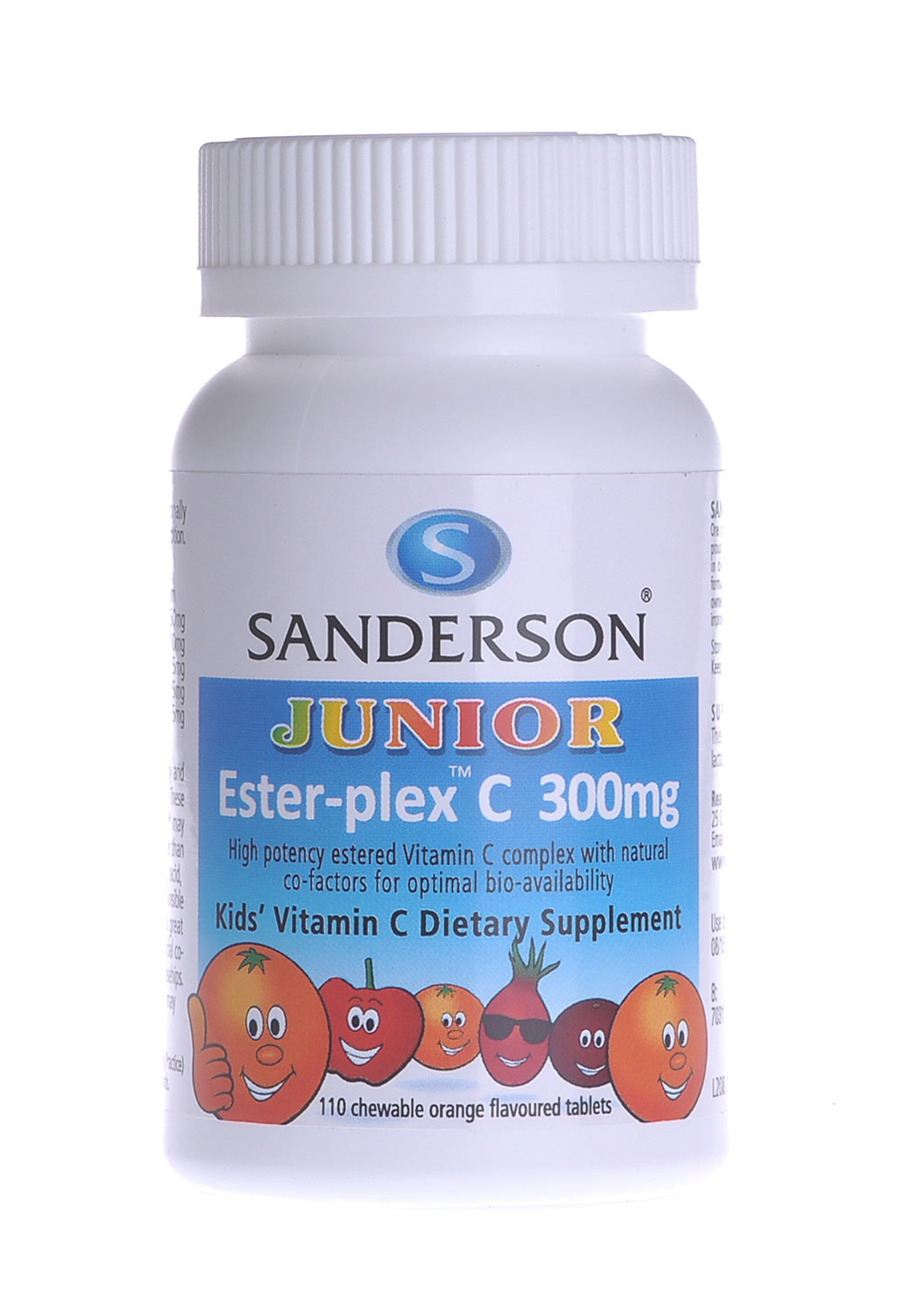 Junior Ester-plex® C Chewable Tablets