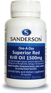 Superior Red Krill 1500mg Softgels