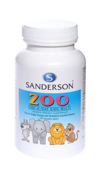 Zoo Kid's Multi Chewable Tablets