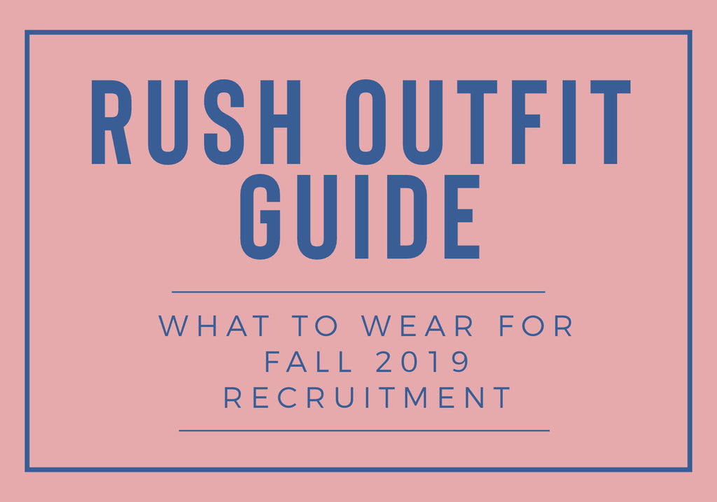 SOCA'S RUSH OUTFIT GUIDE