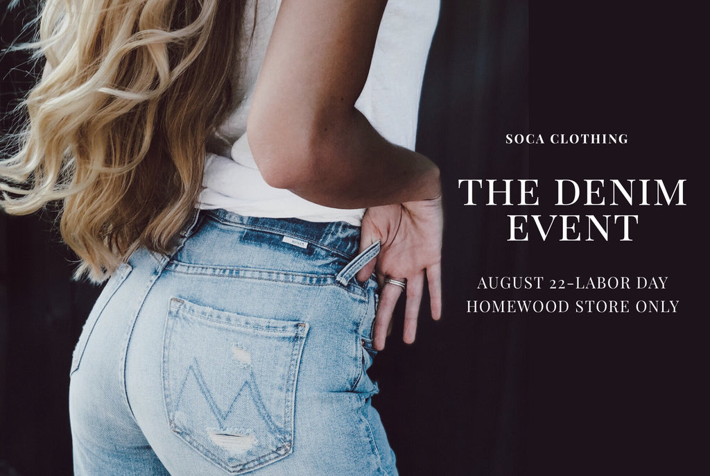 THE DENIM EVENT | SHOP AT BIRMINGHAM'S DENIM DESTINATION