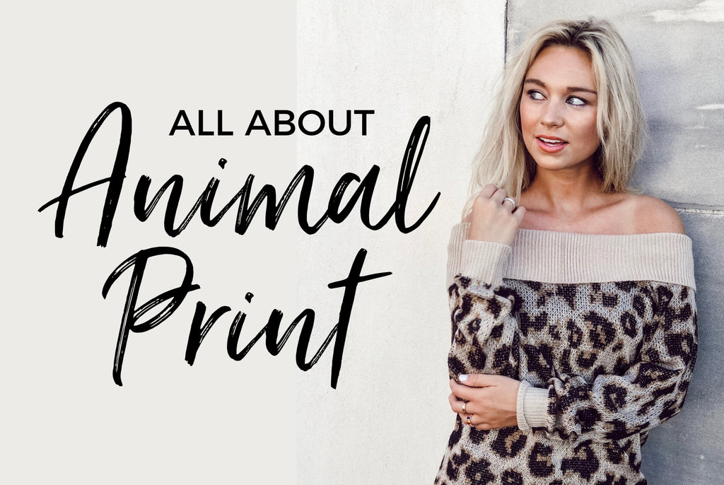 ALL ABOUT ANIMAL PRINT