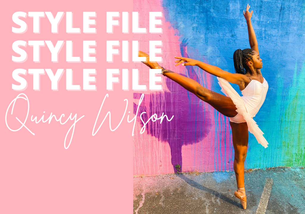 STYLE FILE: MEET QUINCY WILSON