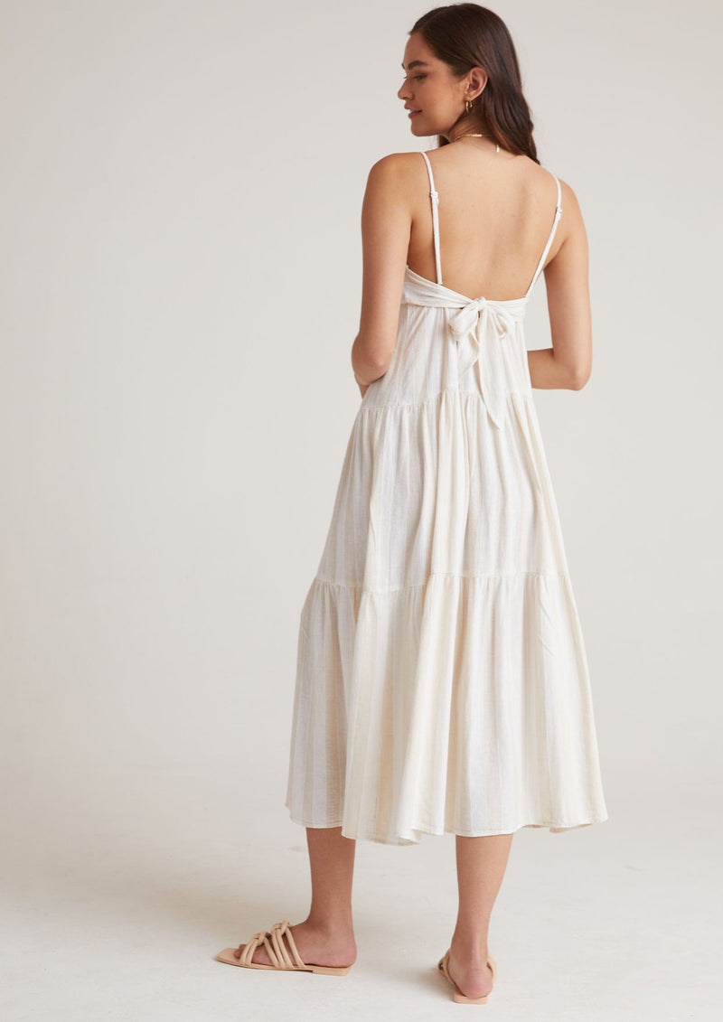Tiered Tie Back Maxi