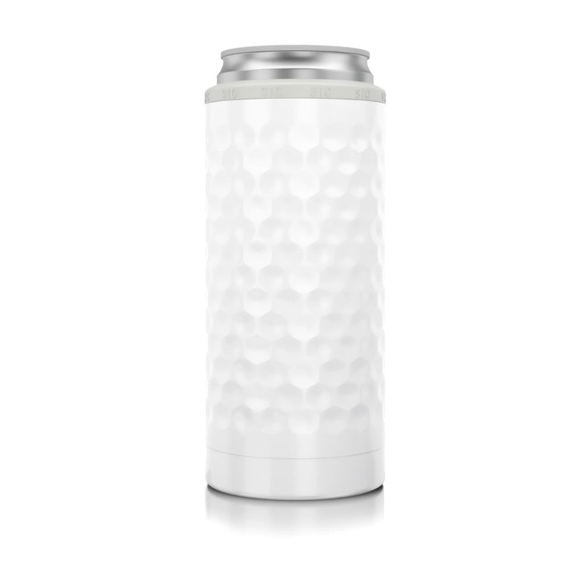 Slim Can Cooler - Dimpled Golf