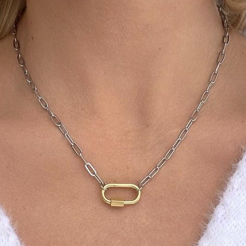 20mm Thick Paperclip Chain Necklace