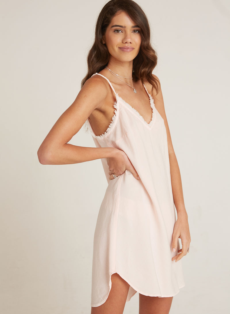Frayed Cami Dress