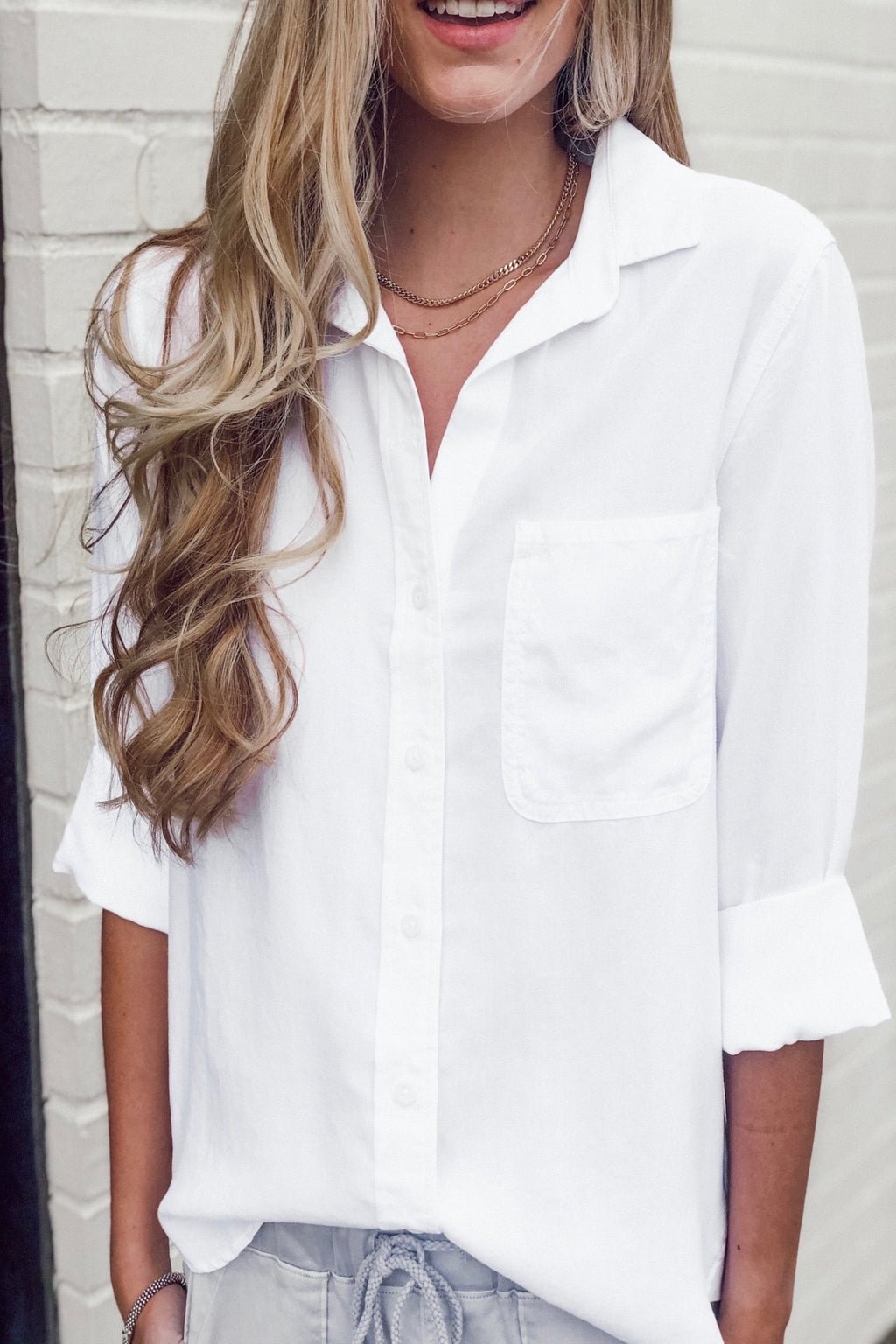 Bella Dahl Shirt Tail Button Down