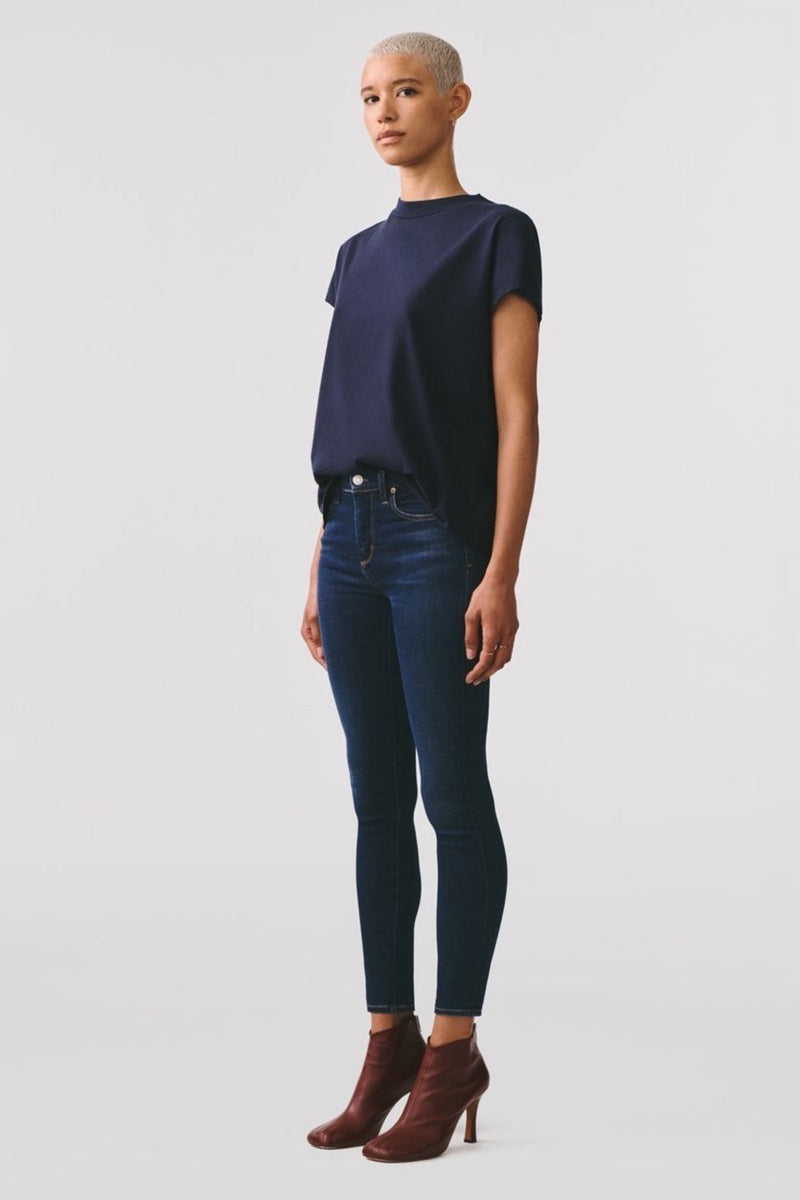 Sophie Mid Rise Skinny Ankle in Prelude