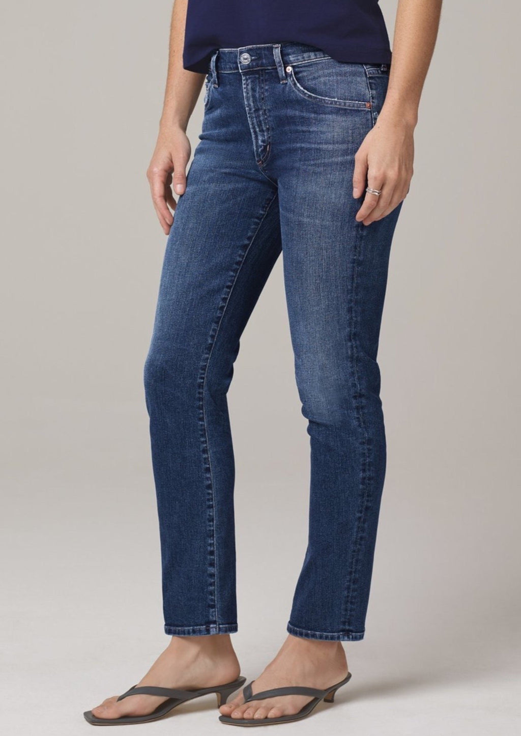 Citizen's of Humanity Skyla Mid Rise Cigarette Jean