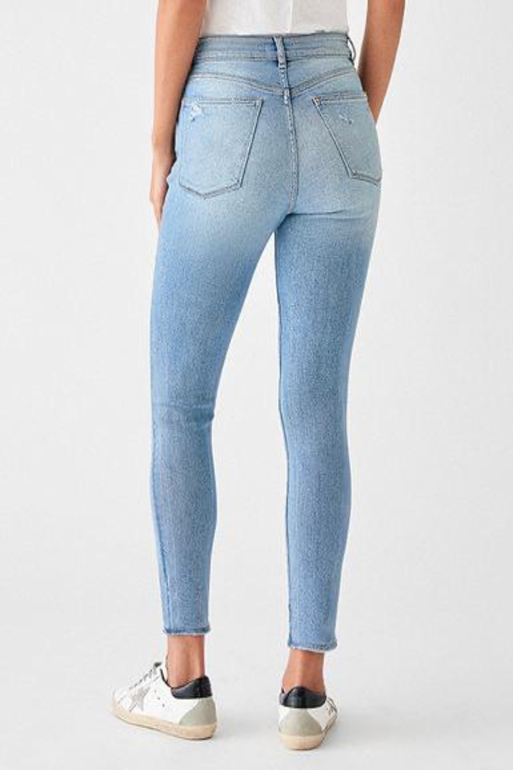 Farrow Ankle High Rise Skinny in Sorrento
