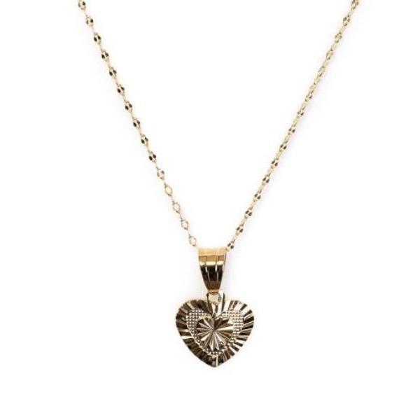 Sacred Heart Necklace /