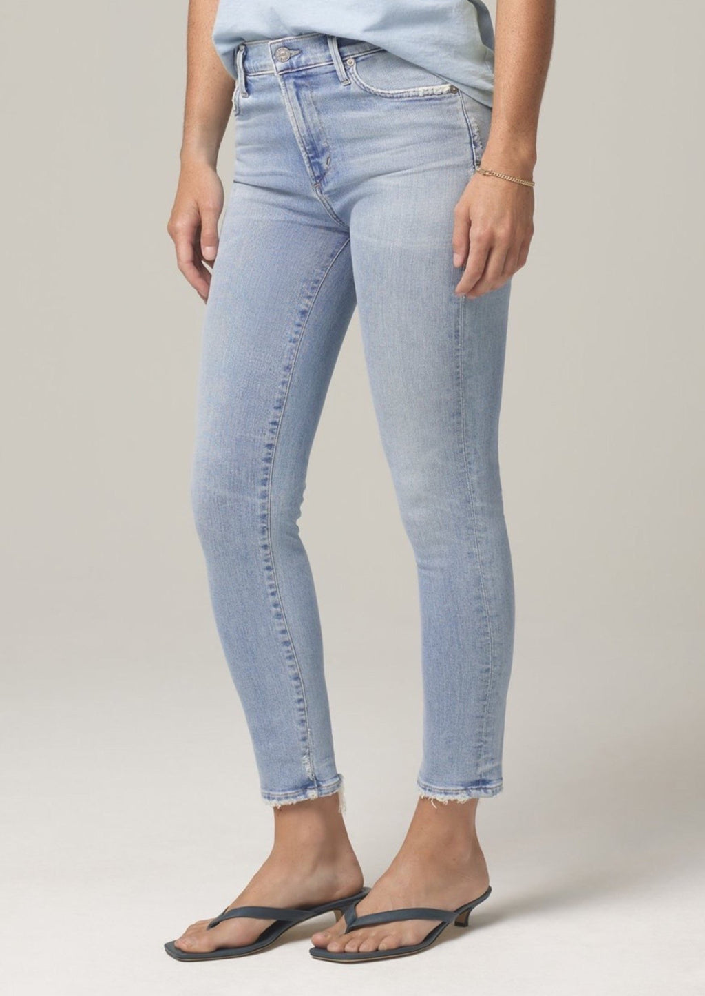 Citizen's of Humanity Rocket Crop Mid Rise Skinny