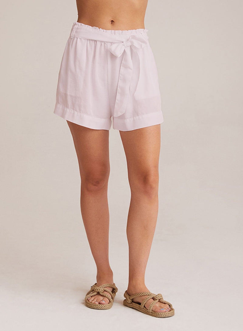 Ruffle High Waist Short