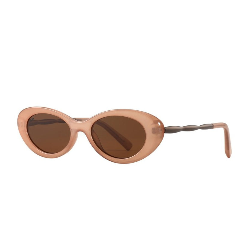 High Society Polarized Sunglasses - Nude