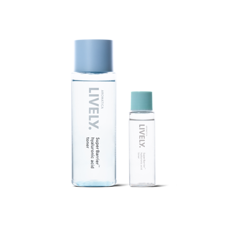 Lively Super Barrier Hyaluronic Acid Toner (200 ml) + FREE MINI (30 ml)
