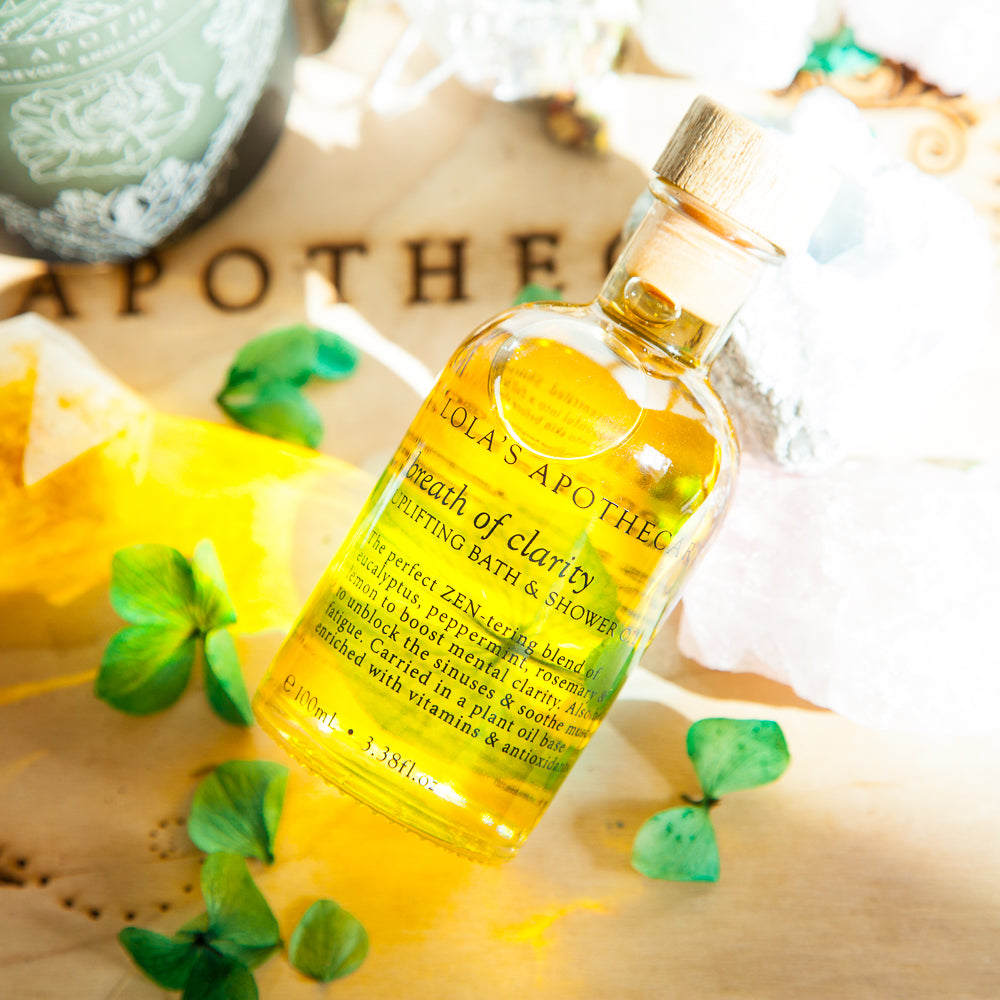 Breath of Clarity Uplifting Bath & Shower Oil (100 ml)
