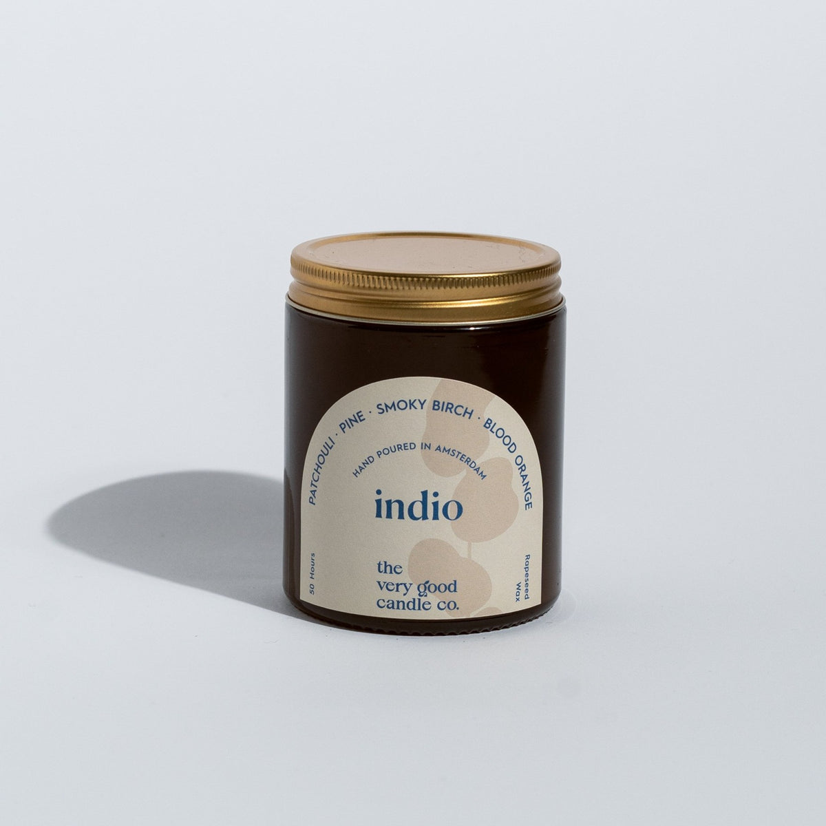INDIO Candle Mid Size (170 ml 45-50 Hours)