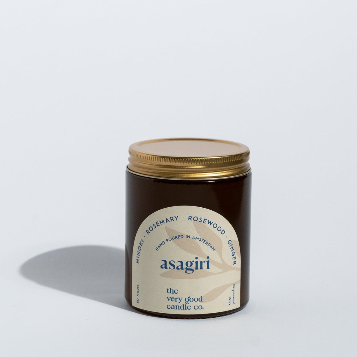 ASAGIRI Candle Mid Size (170 ml 45-50 Hours)
