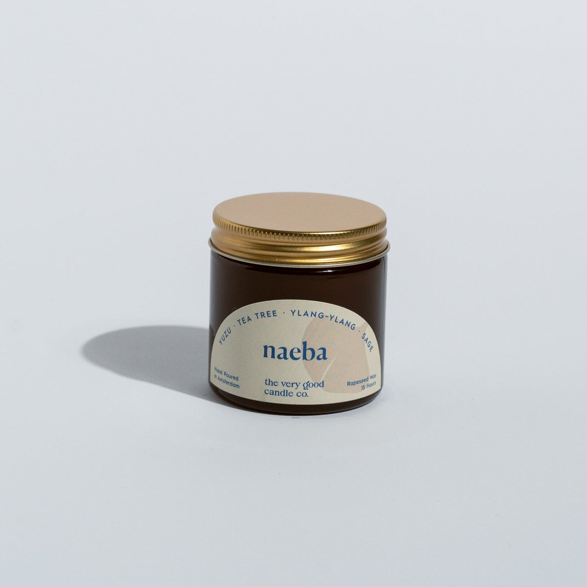 NAEBA Candle Travelsize (60 ml 12-15 Hours)